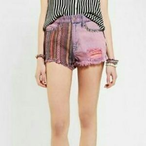 Urban Outfitters BDG Dree Studded Cheeky shorts